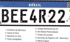 Novo modelo, com quatro letras e três números, teve sua obrigatoriedade adiada para 1º de janeiro de 2017