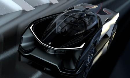 A sino-americana Faraday estreia no segmento automotivo com o superlativo FFZero1, um monoposto conceitual com mais de 1.000 cv, capaz de acelerar de 0 a 100 km/h em menos de 3 s e superar a máxima de 320 cv