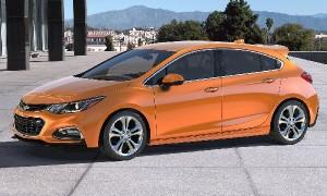 Chevrolet Cruze hatchback: segunda geração chega mais qualificada e com pacote esportivo, RS, que valoriza seu apelo mais esportivo