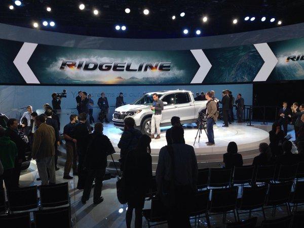 Apresentação da picape Ridgeline, da Honda: sonho inatingível para os brasileiros, modelo tem foco na classe média norte-americana