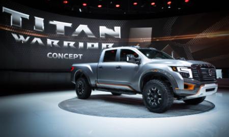 Na terra das caminhonetonas, Nissan apresenta a Titan Warrior Concept, versão conceitual do picape 'full-size' da marca que traz sob o capô um motorzão Cummins V8 5.0 Turbo Diesel que fornece 390 cv de potência