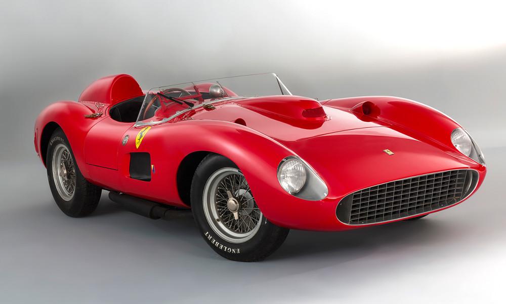 Ferrari 335 S Spider Scaglietti, de 1957, é leiloado por R$ 142,2 milhões
