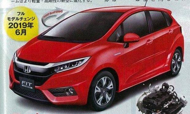 Carros Usados Toyota >> Honda Fit com motor 1.0 turbo em 2019 - Notícias ...