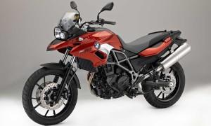 F 700 GS vermelha