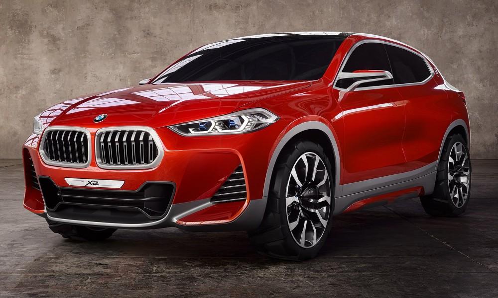 BMW X2 Concept: os alemães voltam a inventar moda