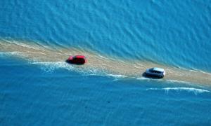 Passage du Gois estrada que fica de baixo da agua 01