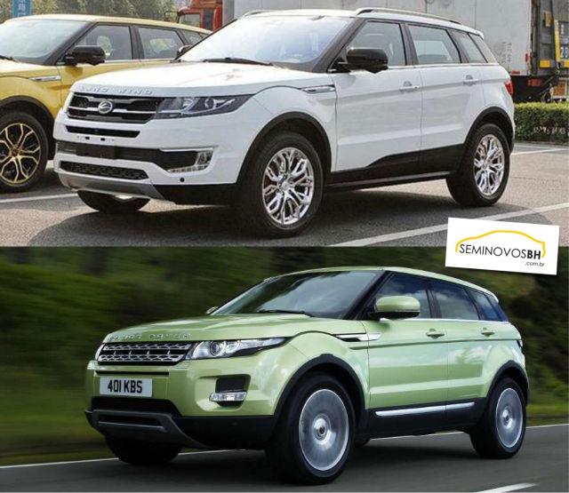 Conheça os carros chineses que são cópias de outros modelos mais caros