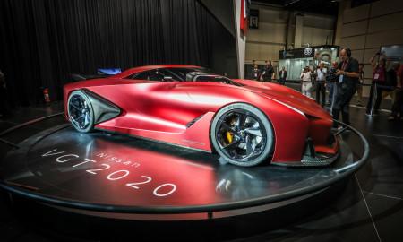 Nissan Concept 2020 Vision Gran Turismo: a visão da Nissan do supercarro do futuro, dos games para o Salão de São Paulo 2016