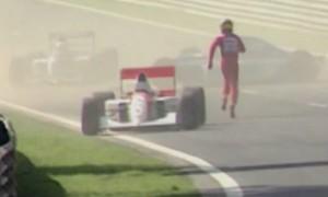 O dia em que Ayrton Senna salvou a vida de um piloto francês