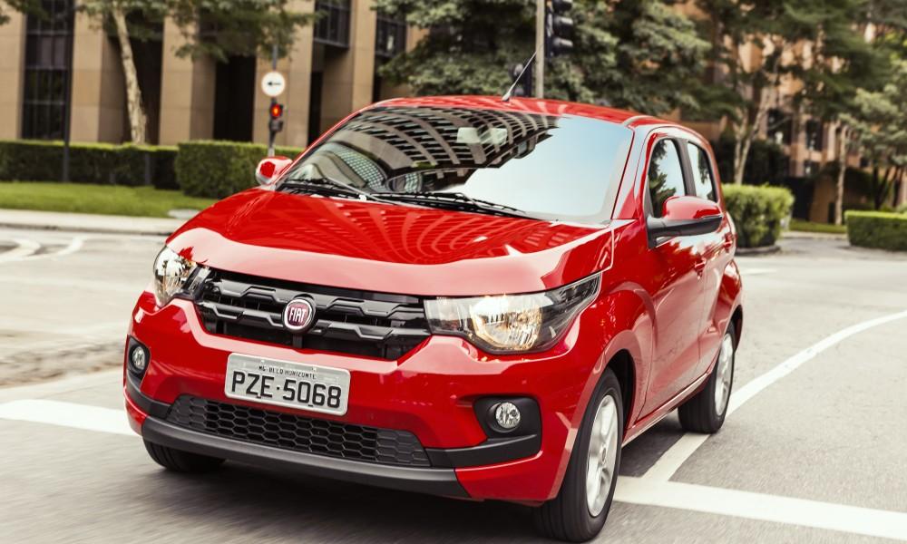 Mobi automatizado é a novidade da Fiat junto com os incrementos das versões