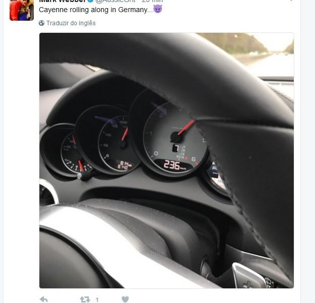 Ex-piloto da F-1 resolve acelerar numa Autobahn e...