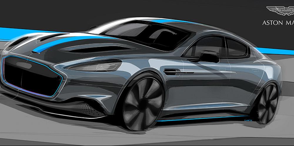 Aston Martin vai de esportivo ligado na tomada