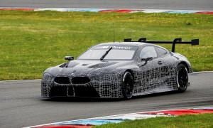 Lausitzring (GER) 11th July 2017. BMW Motorsport, Testing, Martin Tomczyk (GER) BMW M8 GTE.