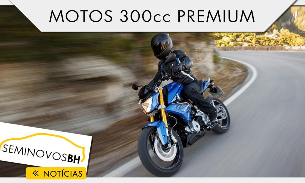 Vídeo da semana: motos 300 cc premium