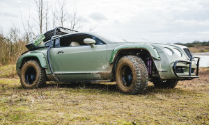 Scunthorpe, UK - Front and side shot of car. (photo credit:  National Geographic/Olivia Williams)