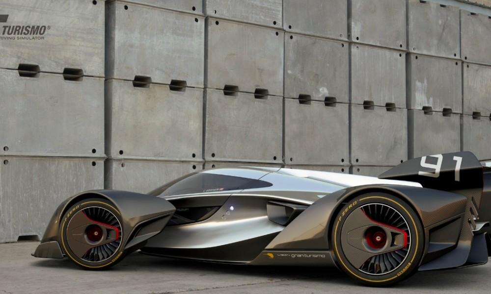 McLaren Ultimate Vision: mais um só para o videogame
