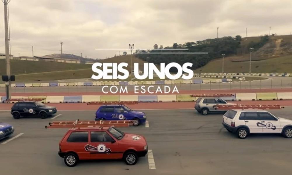 Corrida de Uno com escada servirá para a Fiat anunciar o nome do novo modelo