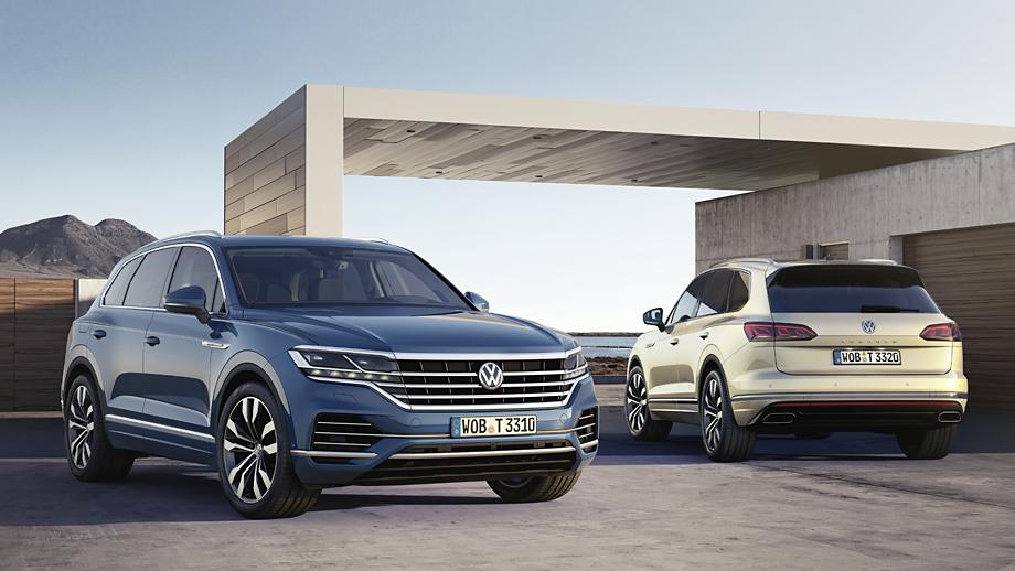 VW Touareg: elegante, imponente e distante...