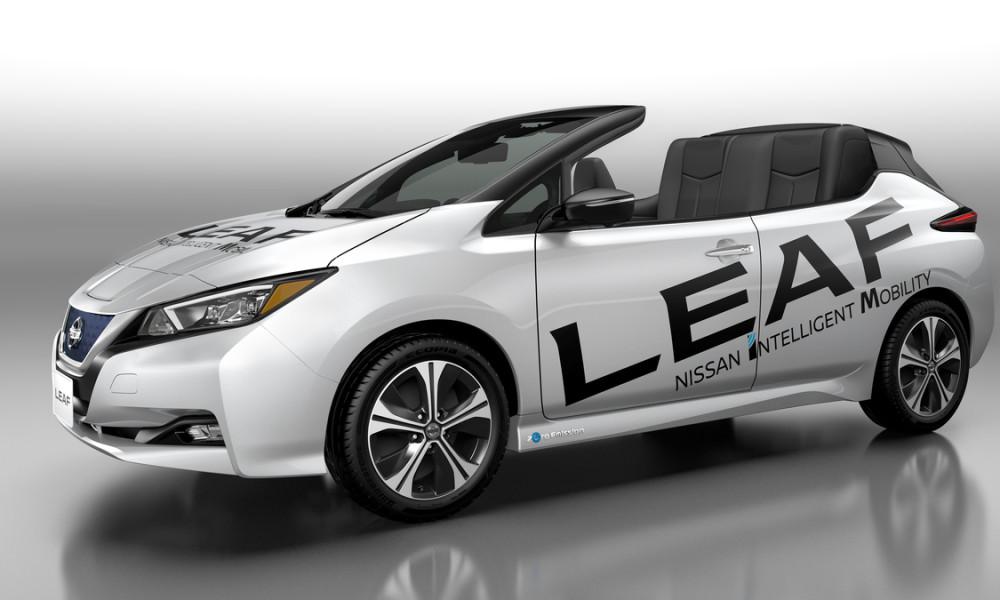Nissan apresenta versão conversível do novo Nissan LEAF