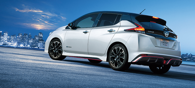 Elétrico da Nissan ganha versão 'turbinada'
