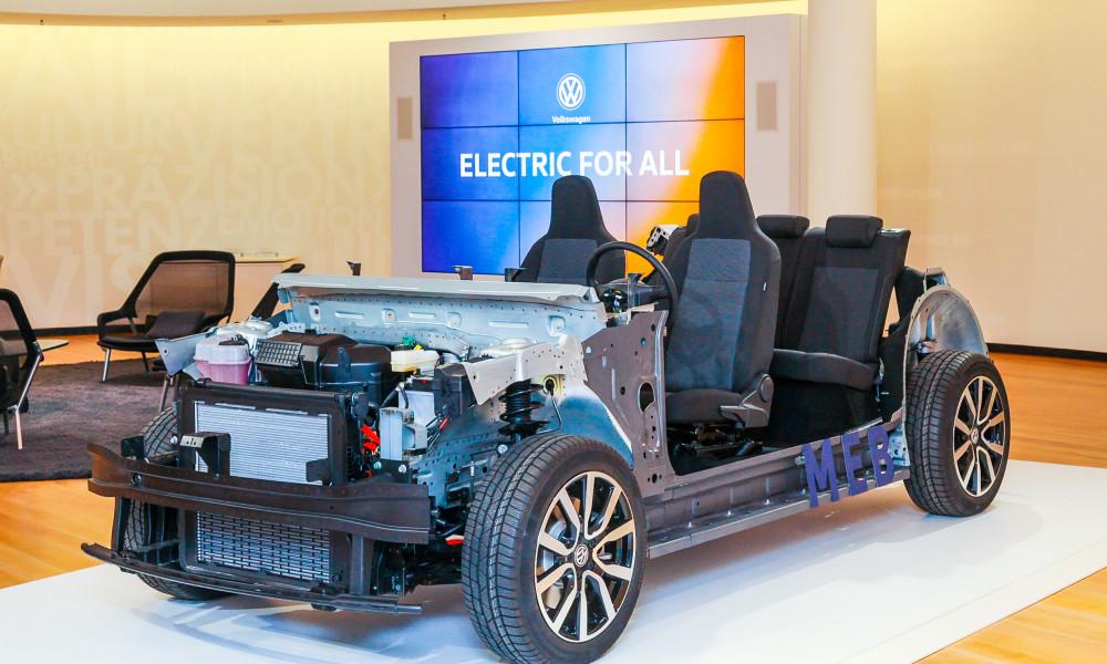 VW lança sua plataforma elétrica. Por enquanto, sem recheio...