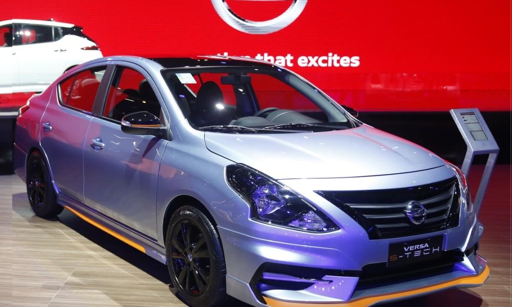 Reconhecido por seu amplo espaço interno em uma carroceria compacta, o Nissan Versa mostra versatilidade no Salão do Automóvel de São Paulo 2018.