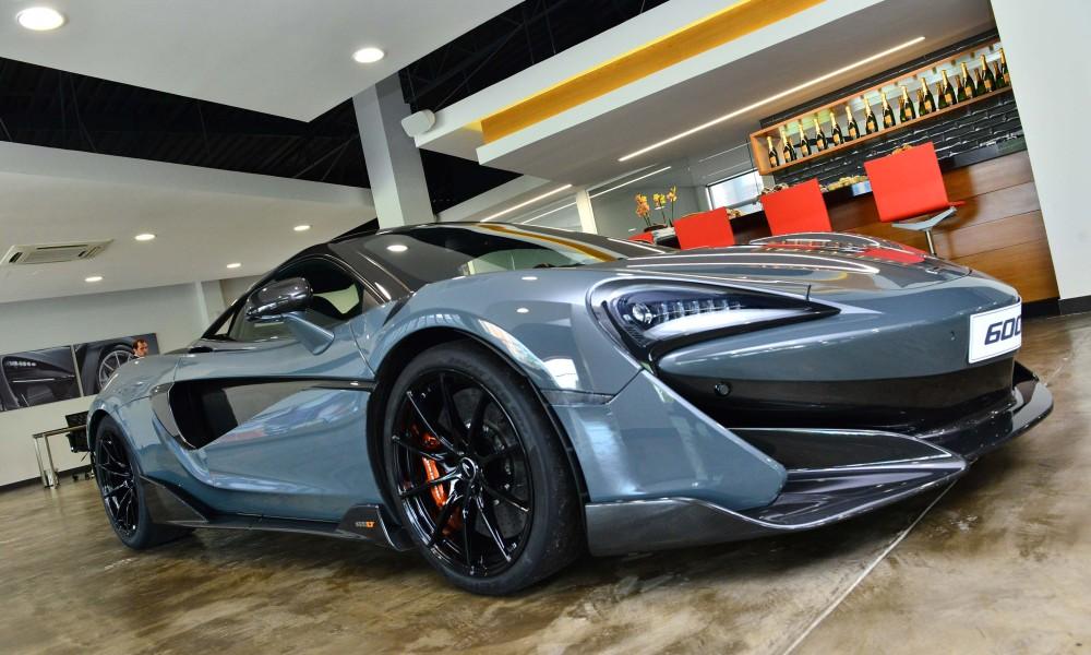 McLaren supera expectativa de vendas no Brasil. Alguém disse crise?
