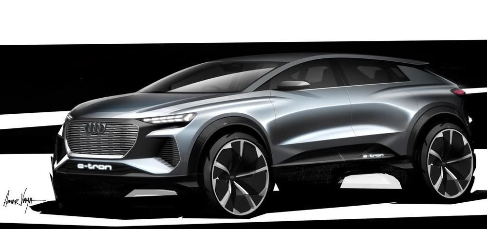 Audi mostra conceito de novo SUV elétrico em Genebra