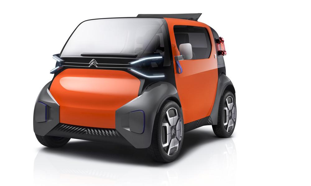 Citroën aposta em conceito simpático para os grandes centros