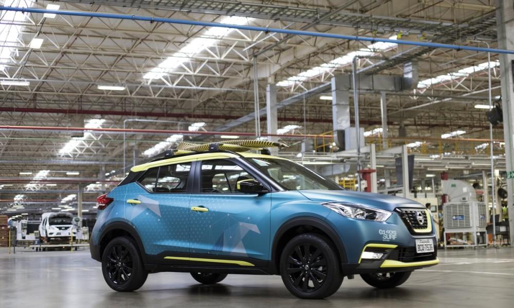 Nissan Kicks Surf Concept: um veículo inspirado na emoção do