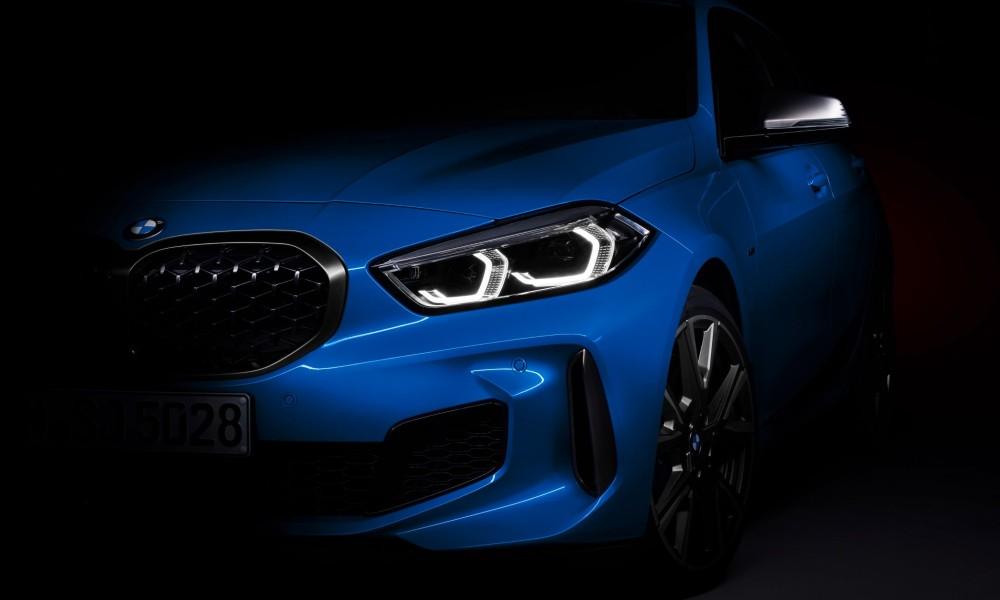 Nova BMW Série 1 começa a mostrar as formas