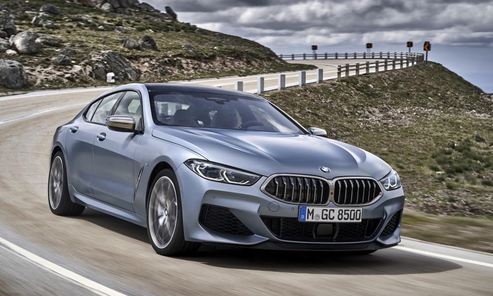 BMW Série 8 Gran Coupé: Panamera, cheguei...